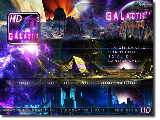 Galactic FX² HD for the iPad