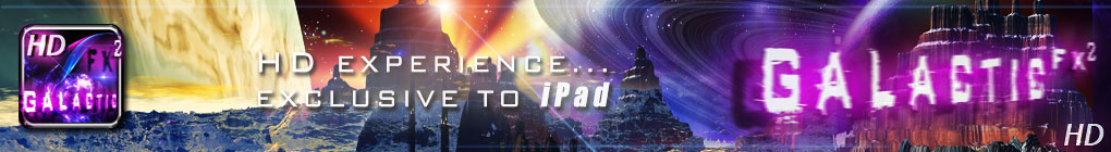 Galactic FX HD for the iPad